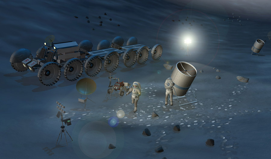 Astronomers Want to Plant Telescopes on the Moon
