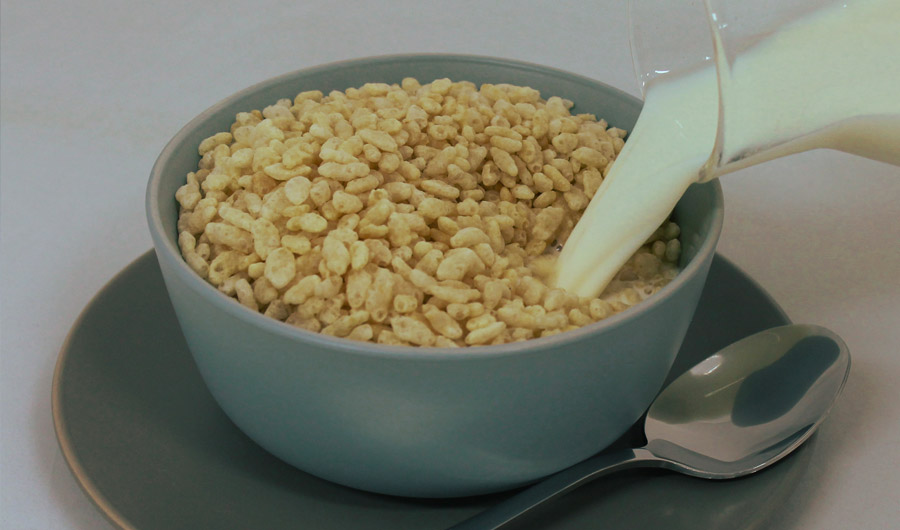 Snap, Crackle, Pop: What Rice Cereal Can Tell Us About Collapsing Ice Shelves