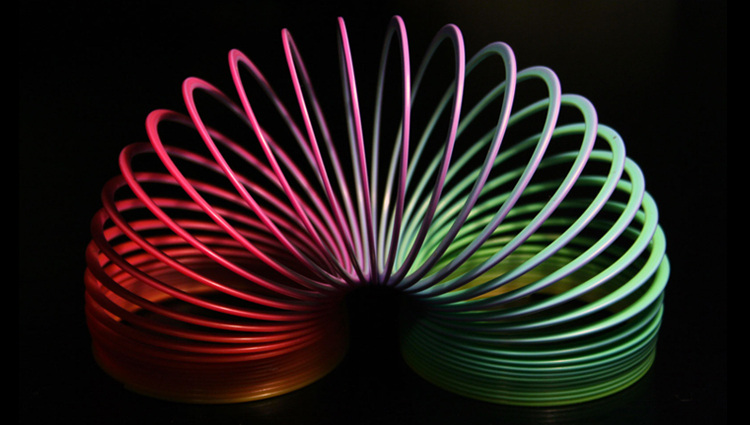 Secrets of the 'Levitating' Slinky