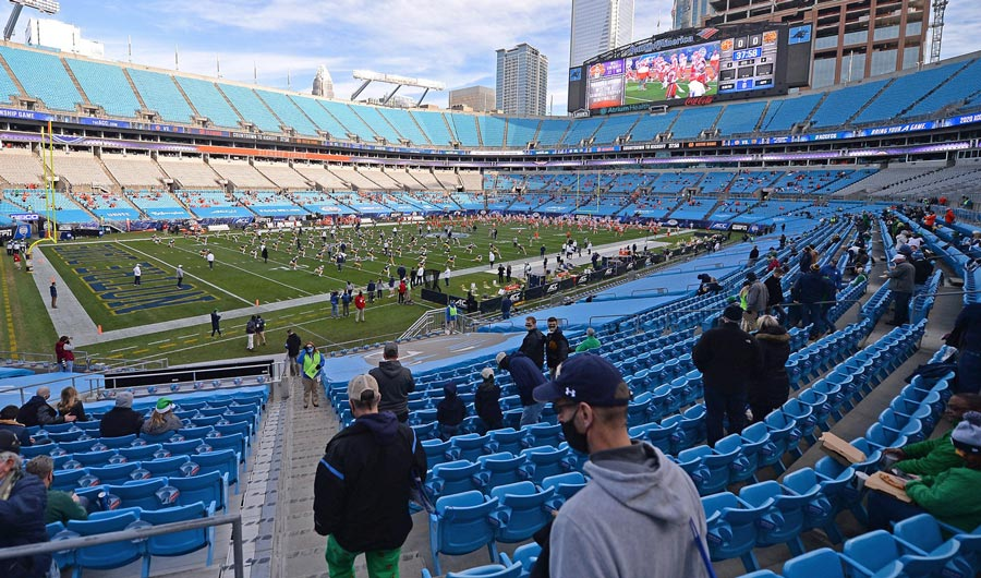 ACC Championship game in Charlotte, North Carolina