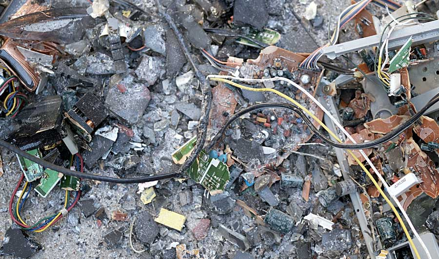 Simpler E-Waste Recycling Method Might Be Greener, Too