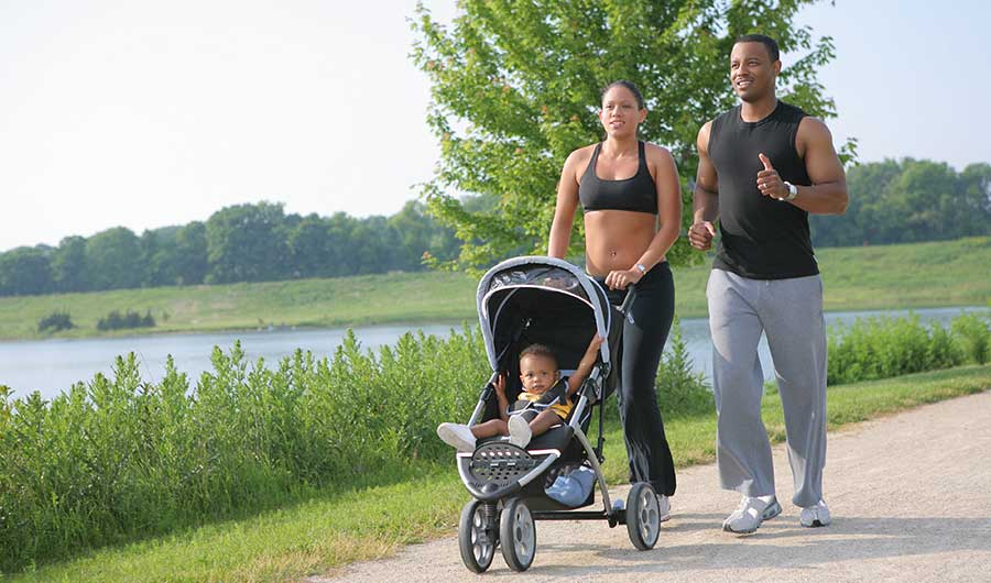Running with Baby? Researchers Calculate the Extra Effort Needed ...