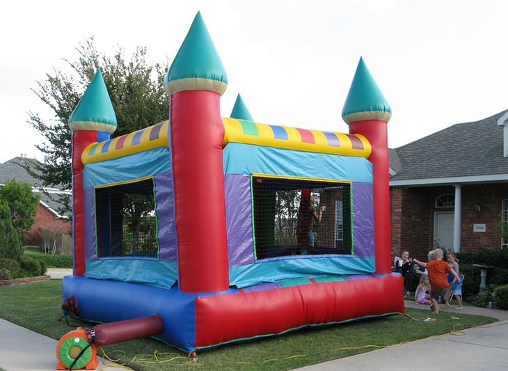 Magnificent Are Bounce Houses Too Hot To Play In Inside Science Largest Home Design Picture Inspirations Pitcheantrous