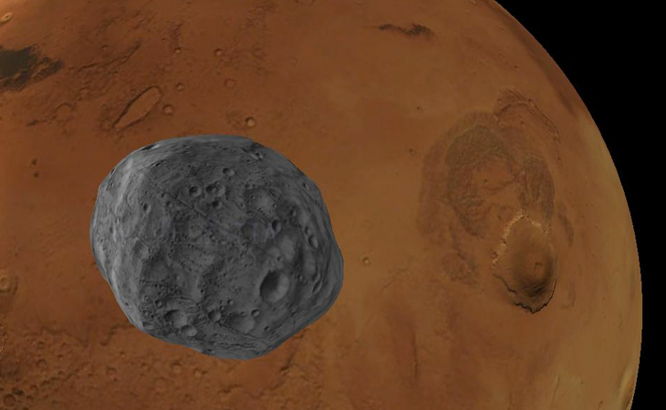 New Evidence Supports Asteroid Origin Of Martian Moon | Inside Science