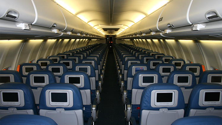 inside airplane photos images galleries with a bite. Black Bedroom Furniture Sets. Home Design Ideas