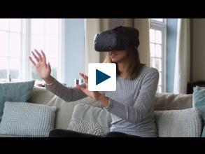 3-D Wall of Virtual Reality
