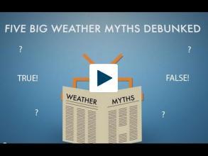 Five Big Weather Myths Debunked