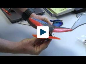 Tiny Drones Deliver Bird's Eye Views Of Hurricanes