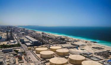 Picture of desalination plant in Dubai